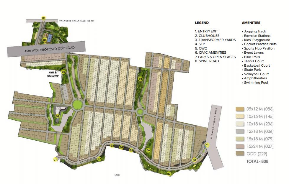The Prestige City Masterplan