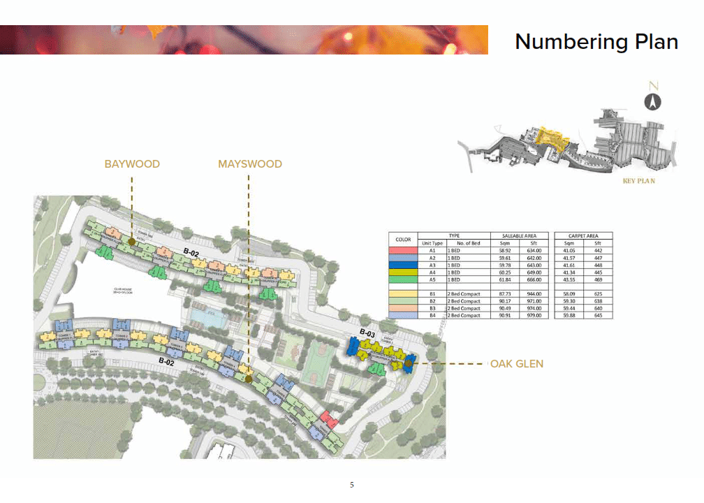 prestige eiden park Numbering Plan