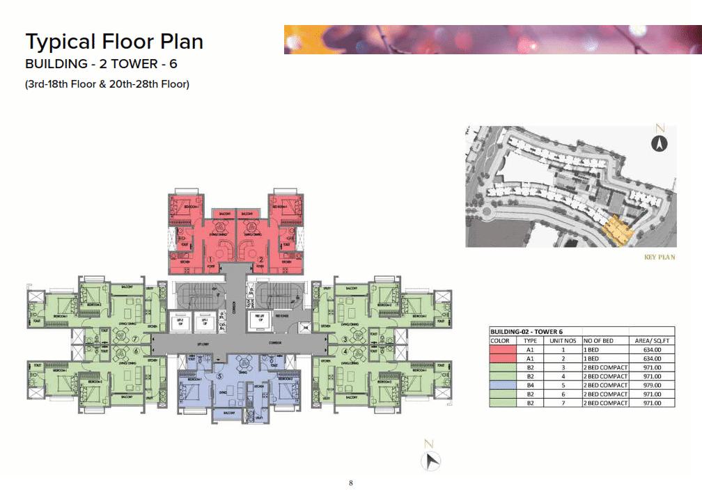 prestige eiden park Plan
